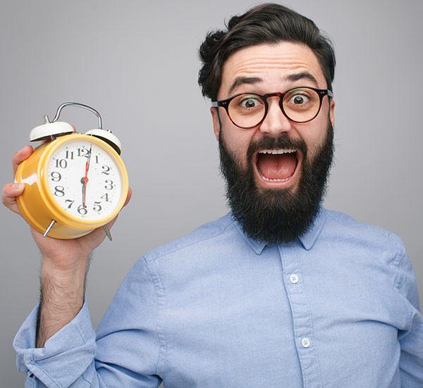 Ti è mai capitato di pensare: non ho tempo?